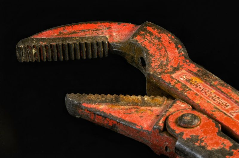 Pipe wrench in Bussum